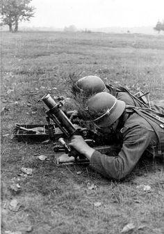 5 cm leichter Granatenwerfer 36 Großdeutschland, 1942