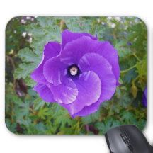 Purple_Hibiscus,_Mousepad. Mouse Pad