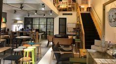 No te pierdas la increíble propuesta de mobiliario de Perceptual. Diseño. Mobiliario. Madera. Color. Sillas. Mesas. Encuentra dónde comprar este diseño y Producto en Colombia.