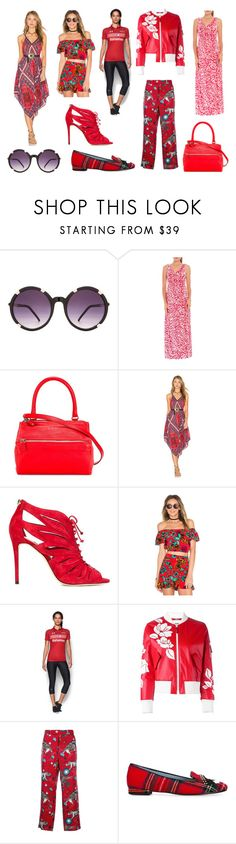 """Red Bull"" by donna-wang1 ❤ liked on Polyvore featuring Spitfire, Olian, Givenchy, Band of Gypsies, Jimmy Choo, MINKPINK, Under Armour, Fendi, Gucci and Chiara Ferragni"