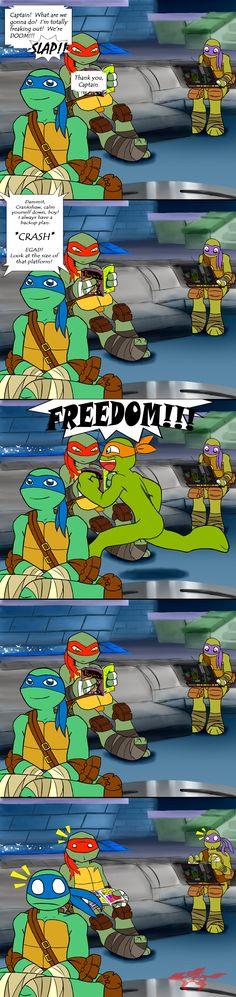 omg, stupid comic, lol XDDD Well, this is kinda aftermath of tmnt episode Parasitica Hope you like it ^^ .: TMNT comic - Our Hero :. Ninja Turtles Art, Teenage Mutant Ninja Turtles, Tmnt Comics, Tmnt 2012, Naruto, Fan Art, Anime, Cartoon Drawings, Sailor Venus