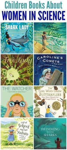 Books about Women in Science for Children - Mommy Evolution - Livre Science Books, Science For Kids, Science Activities, Library Science, Stem Science, Library Books, My Books, Library Lessons, Kids Reading