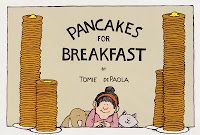 Pancakes for Breakfast by Tomie DePaola PICUTRE book