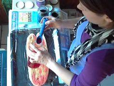 21_Wolle färben mit Ostereierfarben TEIL 1 - YouTube