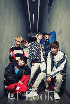 Boys24 Unit Yellow for 1stLOOK magazine #Boys24 #Jaemin #Seonghwan #Hongin…