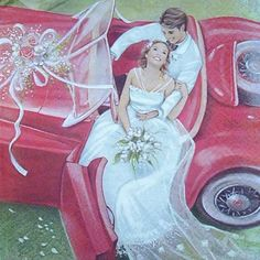 Tips For Planning The Perfect Wedding Day Wedding Scene, Wedding Art, Wedding Images, Wedding Pictures, Wedding Illustration, Art Et Illustration, Illustrations, Wedding Dress Sketches, Vintage Wedding Cards