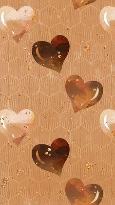 Pretty Phone Wallpaper, Heart Wallpaper, Lock Screen Wallpaper, Pattern Wallpaper, Wallpaper Backgrounds, Iphone Wallpaper, Cupcakes Wallpaper, Gift Wrapper, Picture Design