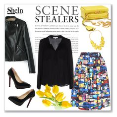 """""""SheIn"""" by amra-mak ❤ liked on Polyvore featuring Mark Cross, Milly, INC International Concepts, women's clothing, women, female, woman, misses, juniors and shein"""
