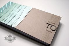 custom chipboard + page protector mini album tutorial by Kinsey Wilson