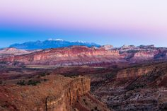 Capitol Reef Sunset - Captiol reef is an incredible place to watch the colours of the earth and sky mystify you.