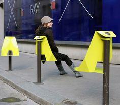 Urban Seat est une création de Damien GIRES.  Elle est actuellement développée par l'Agence LePlanB. Paris, 2010