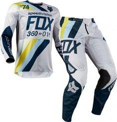 91c01b1a954b4d 2018 Fox 360 DRAFTR Motocross Gear LIGHT GREY 28 ONLY by Fox MX. Great value