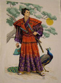 samurai peacock