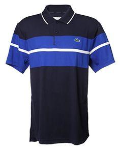 Lacoste Men s Short-Sleeve Classic Stripe Polo Shirt Men s Fashion (   )3… b7f9bc1489