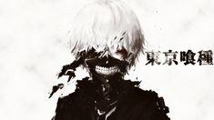 Ken Kaneki Art Tokyo Ghoul White Hair Mask 1920×1080