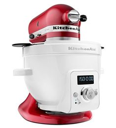 KitchenAid® Precise Heat Mixing Bowl Attachment for Tilt-Head Stand Mixer Kitchen Taps, Kitchen Cabinet Design, Kitchen Gadgets, Kitchen Dining, Kitchen Appliances, Cooking Gadgets, Kitchen Small, Small Appliances, Cooking Tips