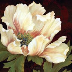 Shop for framed Il Ballo Maronne II - mini by Pamela Gladding. Art Floral, Flower Images, Flower Art, Pictures To Paint, Art Pictures, Watercolor Flowers, Watercolor Paintings, Art Encadrée, China Painting