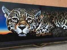 Jaguar Mural, Kati Astraeir, Ctr for Biological Diversity ...