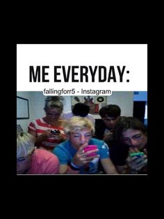 So true! A day of a fangirl..  Wake up (think about them) At school (thinkig about them) Get home, go on phone (Stalk them) Eat (think about them) Watch videos/ interviews on them until midnight. Then sleep (Repeat again.. DAILY)