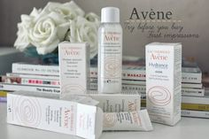 Avene skincare products | First impressions review