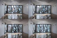 "moveable exterior panels ... ""Danial"" | Architects: Reza Sayadian + Sara Kalantary | Location: Tehran ( تهران ), Iran ( ایران ) | Photographs: Alireza Behpour"