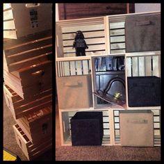 Cratey fun! #crates #pallets #usa #walmart #diy #shelf #awesome #Padgram