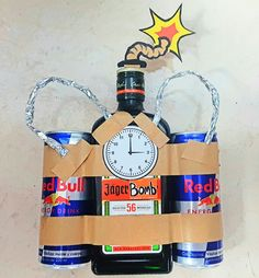Gift jagerbomb bomb jager – Geburtstagsgeschenk - birthday presents Diy Christmas Gifts For Boyfriend, Diy Gifts For Girlfriend, Diy Gifts For Dad, Diy Gifts For Friends, Gifts For Your Boyfriend, Birthday Gifts For Boyfriend, Christmas Diy, Cool Gifts For Guys, Boyfriend Ideas