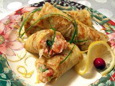 Блинчики с морепродуктами