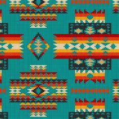 Elizabeth Studios Tuscon Southwest, great southwestern line. Native American Patterns, Native American Crafts, Indian Patterns, Bead Loom Patterns, Peyote Patterns, Bracelet Patterns, Beading Patterns, Native Beadwork, Native American Beadwork