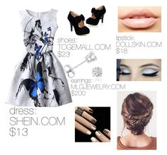 """""""Untitled #54"""" by shiyfashionista on Polyvore featuring Amanda Rose Collection and MDMflow"""