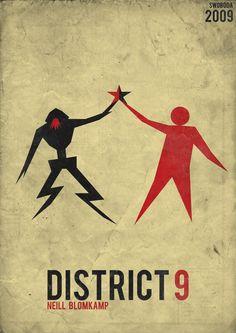 Minimalist Poster: District 9
