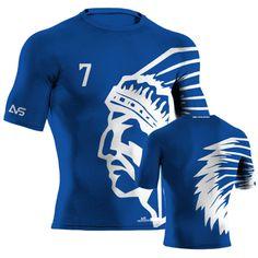 4bb75105c57 32 Best Custom Football Compression Wear images | Custom football ...