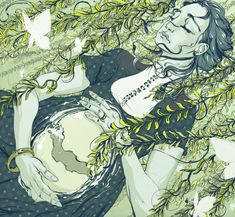 Amazing!  Stunning Illustrations by Goni Montes