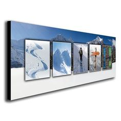 Ski Name Art Personalized from $49.95