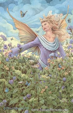 THE MEADOW FAERY by James  Browne
