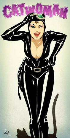 Catwoman. First comic books I ever bought, and still my favorite villain/villainess/hero/whatever.