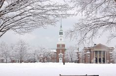 Dartmouth University:  Hanover, New Hampshire