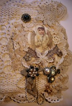 Judy's Various Craft and Art creations : More lace items