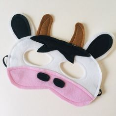 Excited to share this item from my #etsy shop: Cow Costume, Kids Cow Mask, Farmyard Mask, Adult Cow Costume, Nursery Rhyme Cow Mask, Old MacDonald Mask, Cow Farm Animal Mask. ANY SIZE. Animal Costumes For Kids, Animal Masks For Kids, Mask For Kids, Kids Cow Costume, Mcdonalds Birthday Party, Cow Mask, Cow Appreciation Day, Felt Mask, Best Birthday Gifts