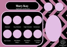 Mary Kay tray insert PDF Mary Kay Cosmetic by ThePartyCrafter