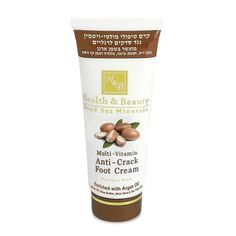 H&B Dead Sea Minerals Multi-Vitamin Anti-Crack Foot Cream Enriched Argan Oil #HealthBeauty