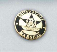 Anita Blake U.S. Marshal Lapel Pin