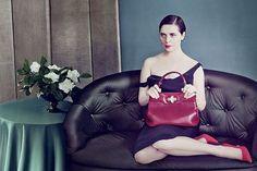 Bulgari, Isabella Rossellini photographed by Annie Leibovitz.