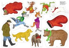 Bilderesultat for sagan om vanten 4 Kids, Diy For Kids, Body Preschool, Swedish Language, Conte, Pre School, Mittens, Childrens Books, Storytelling