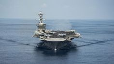 The USS Carl Vinson is expected off the peninsula soon, amid rising regional tension.
