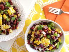 Black Bean Salad with Honey Lime Vinaigrette   Sara Haas, RDN, LDN