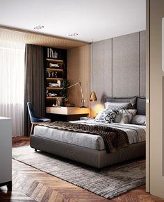 Fabulous 9 modern and stylish bedroom design ideas 3 « A Virtual Zone Teen Bedroom Designs, Bedroom Bed Design, Modern Master Bedroom, Modern Bedroom Furniture, Stylish Bedroom, Modern Bedroom Design, Minimalist Bedroom, Contemporary Bedroom, Home Decor Bedroom