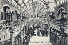 A second page of old postcards of Birmingham in the West Midlands Birmingham City Centre, Birmingham England, West Midlands, Local History, Arcade, Best Cities, Vintage Postcards, Old Town, Old Photos