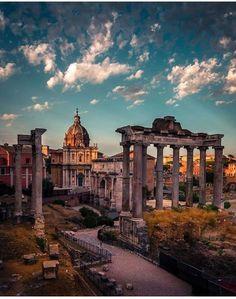 Fórum Romano, Roma, Itália