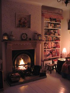 I love cosy warm winter nights. I also love a real fire too but I don't have one :(